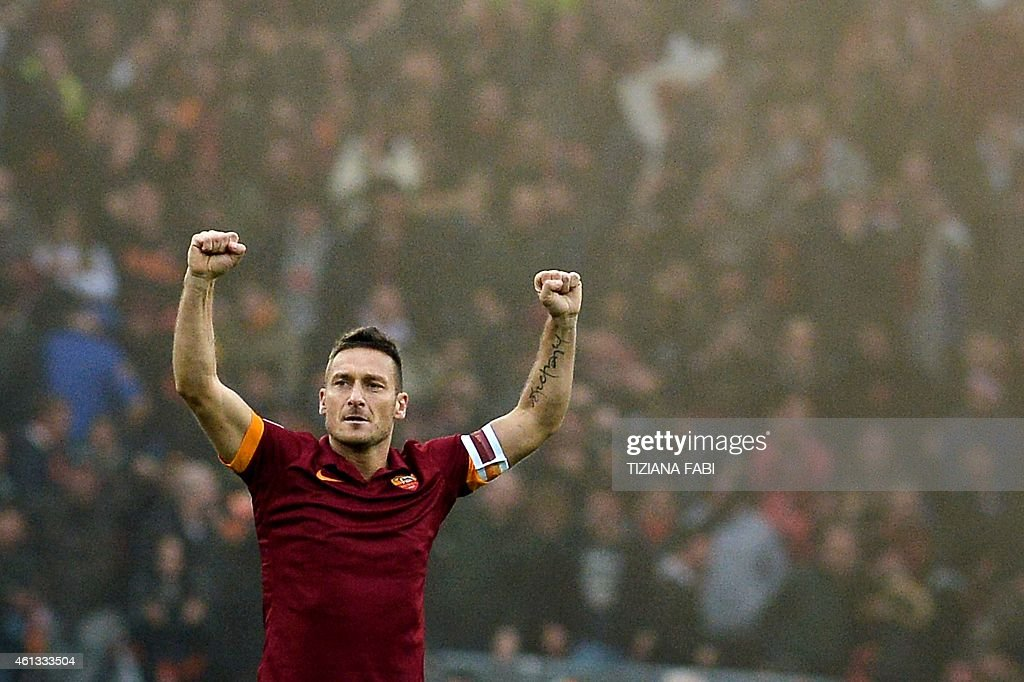 FBL-ITA-SERIEA-ROMA-LAZIO : News Photo