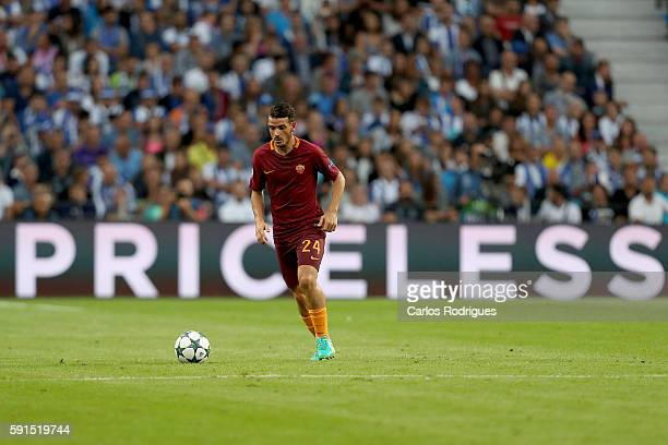 Roma's midfielder Alessandro Florenzi from Italy during the match between FC Porto v AS Rome UEFA Champions League playoff match at Estadio do Dragao...