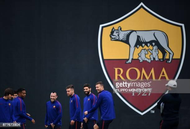 Roma's midfielder from Belgium Radja Nainggolan midfielder from Netherlands Kevin Strootman defender from Argentina Federico Fazio and forward from...