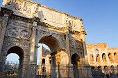 Rome, Arc de Triomphe, Italy