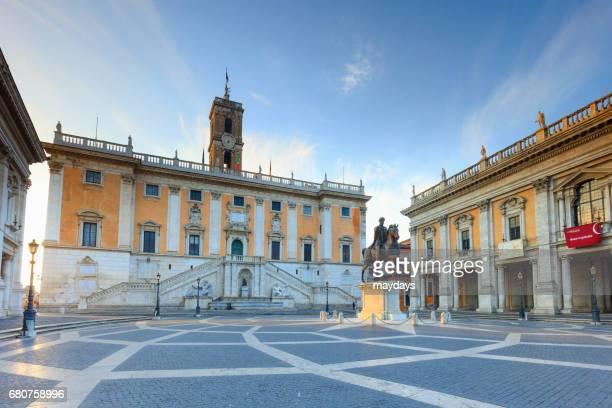 rome, campidoglio - periodo medievale stock pictures, royalty-free photos & images