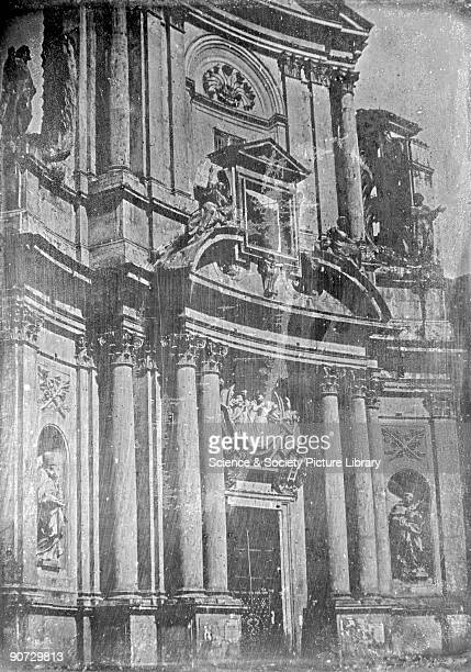 Rome Church of San Marcello al Corso' 1841 Anon daguerreotype One of a series of topographical and architectural views which are among the earliest...