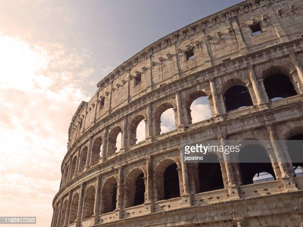 rome coliseum - ancient rome stock pictures, royalty-free photos & images