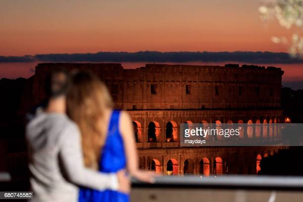 rome, colosseum - periodo medievale stock pictures, royalty-free photos & images