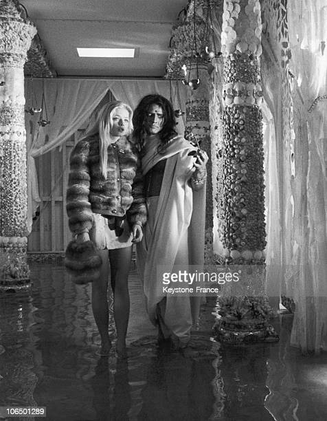 Rome Ewa Aulin And Marlon Brando In Candy Christian Marquand S Movie January 26Th 1968
