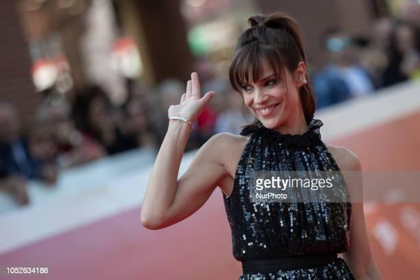 "Rome Film Fest 2018. Red Carpet for the film ""Ti Presento Sofia"" October 20, 2018"