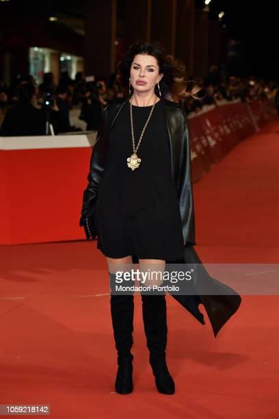 Rome Film Festival 2018 thirteenth edition Alba Parietti on the red carpet of the Rome Film Festival 2018 at the Auditorium Parco della Musica Rome...