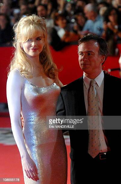 """Rome first film festival: Actress Nicole Kidman at the premiere of her movie 'Fur', directed by Steven Shainberg. Based on the book """"Diane Arbus: A..."""
