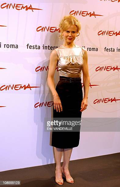 Rome first Film Festival Nicole Kidman presents the film 'Fur' by director Steven Shainberg Based on the book Diane Arbus A Biography written by...