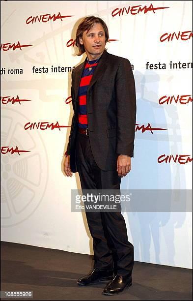 Rome first Film festival Photocall of the film 'Alatriste' by director Agustin Diaz Yanez with Viggo Mortensen Enrico Lo Verso Ariadna Gil and...