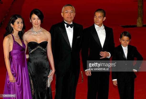 Rome first Film festival Premiere of the film 'Fu Zi' by director Patrick Tam Actress Charlie Young Kelly Lin director Patrick Tam Actors Kingto Ng...
