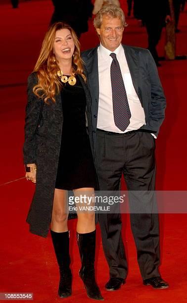 Rome first Film Festival Premiere of the film 'NNapoleon and Me' with Monica Bellucci by italian director Paolo Virzi Italian actress Alba Parietti...