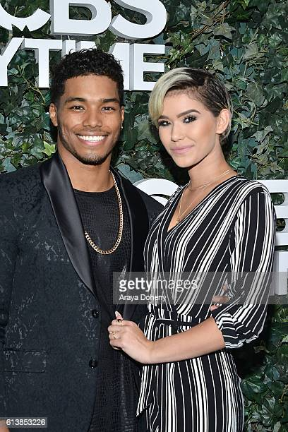 Rome Flynn and Camia Marie attend the CBS Daytime for 30 Years event at The Paley Center for Media on October 10 2016 in Beverly Hills California