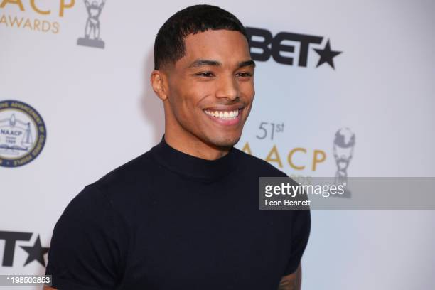 Rome Flynn attends 51st NAACP Image Awards Nomination Announcement at SLS Hotel on January 09 2020 in Beverly Hills California