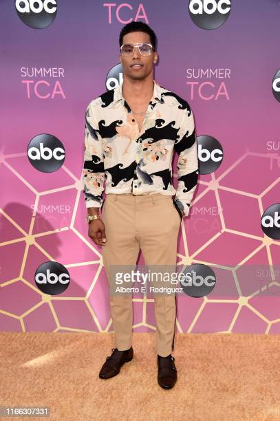 Rome Flynn attends ABC's TCA Summer Press Tour Carpet Event on August 05 2019 in West Hollywood California