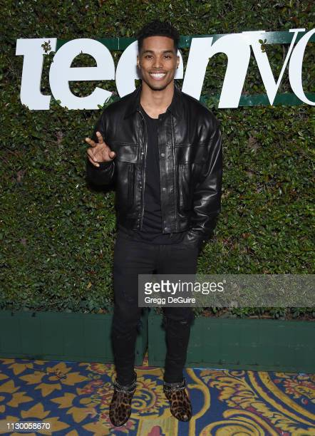 Rome Flynn attends Teen Vogue's Young Hollywood Party Presented By Snap at Los Angeles Theatre on February 15 2019 in Los Angeles California