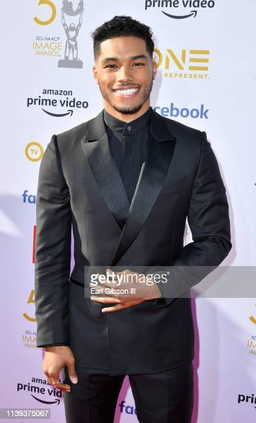 Rome Flynn attends the 50th NAACP Image Awards at Dolby Theatre on March 30 2019 in Hollywood California