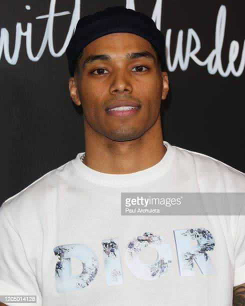 Rome Flynn attends the premiere of the series finale of ABC's How To Get Away With Murder' at Yamashiro Hollywood on February 08 2020 in Los Angeles...