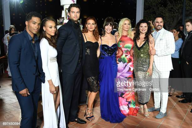 Rome Flynn Reign Edwards Pierson Fode Courtney Hope Jacqueline MacInnes Wood Katherine Kelly Lang Heather Tom and Don Diamont attend the 'The Bold...
