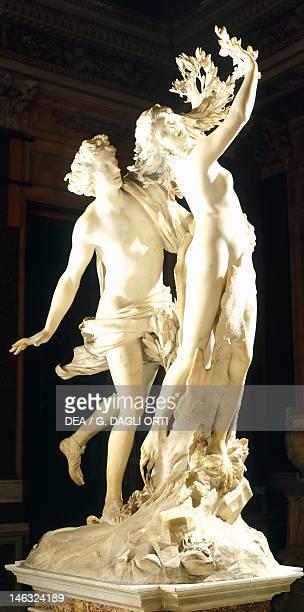 Rome Galleria Borghese Apollo and Daphne 16221625 by Gian Lorenzo Bernini