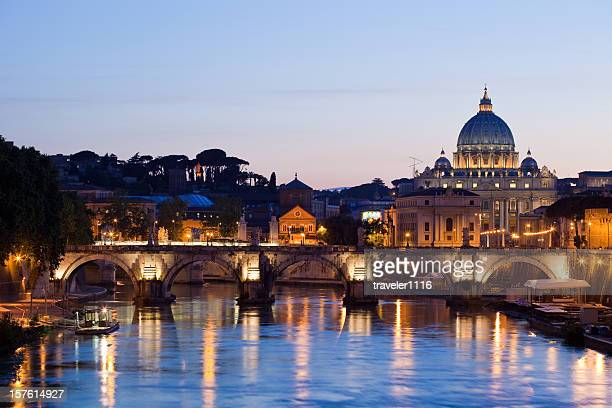 Rome In The Evening