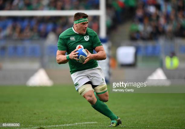 Rome Italy 11 February 2017 CJ Stander of Ireland during the RBS Six Nations Rugby Championship match between Italy and Ireland at the Stadio...