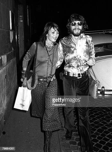 Rome Italy 12th October 1970 Paul Getty Jr son of oil billionaire Paul Getty III is pictured with his wife Dutch actress Talitha Poll
