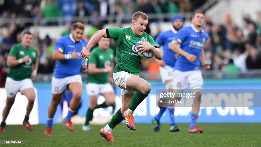 Italy v Ireland - Guinness Six Nations Rugby Championship : Fotografía de noticias