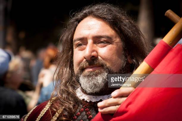 Rome, Italy: Actor as Ancient Roman, Birth of Rome Festival