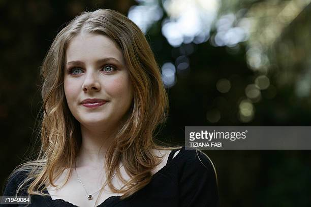 Actress Rachel HurdWood of Britain poses during the photocall of Profumo storia di assassino directed by German director Tom Tykwer 20 Septembre 2006...