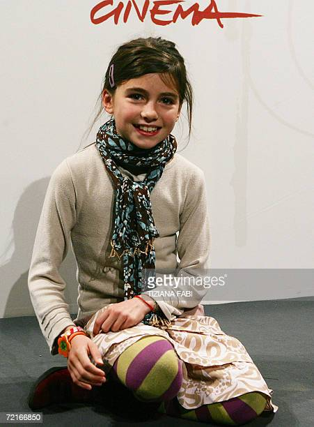 French actress Alba Gaia Kraghede Bellugi poses during the photocall of 'Je m'appelle Elisabeth' directed by French JeanPierre Ameris at the first...