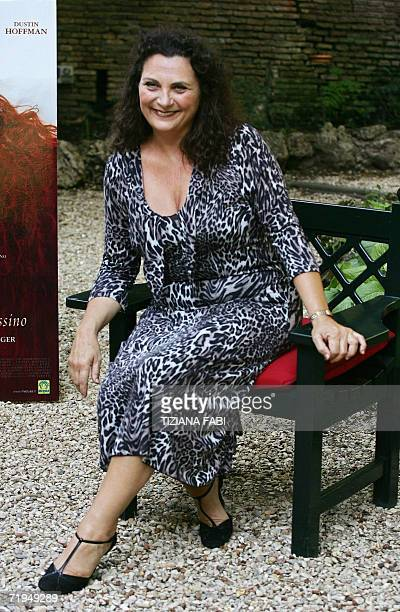 Italian actress Dora Romano poses during the photocall of Profumo storia di assassino directed by German director Tom Tykwer 20 Septembre 2006 in...