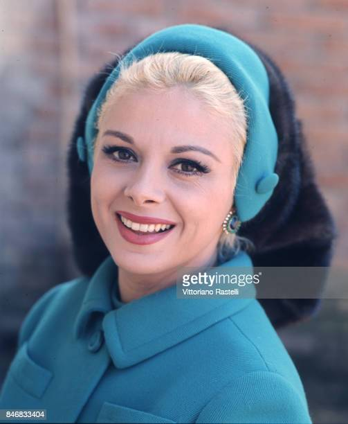 Rome Italy January 1968 Italian actress Sandra Milo