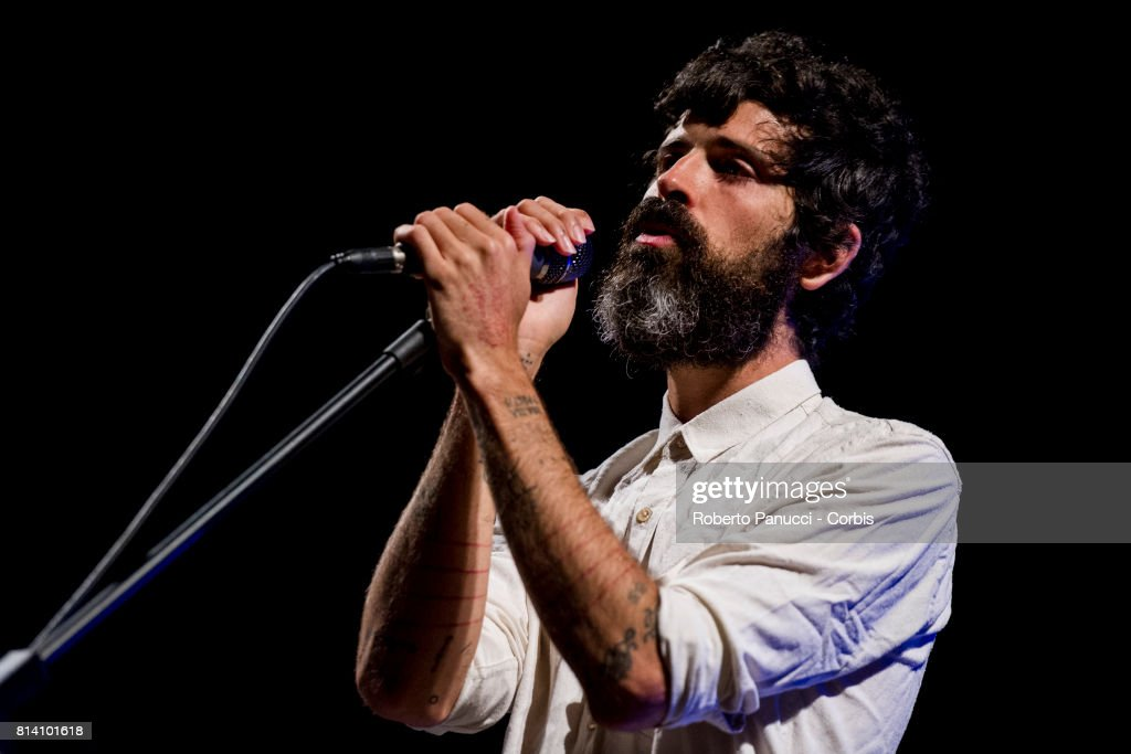 Devendra Banhart Performs In Rome