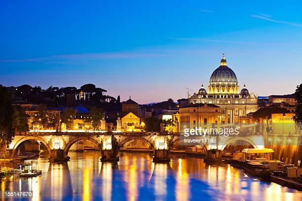 rom, italien - kuppel stock-fotos und bilder