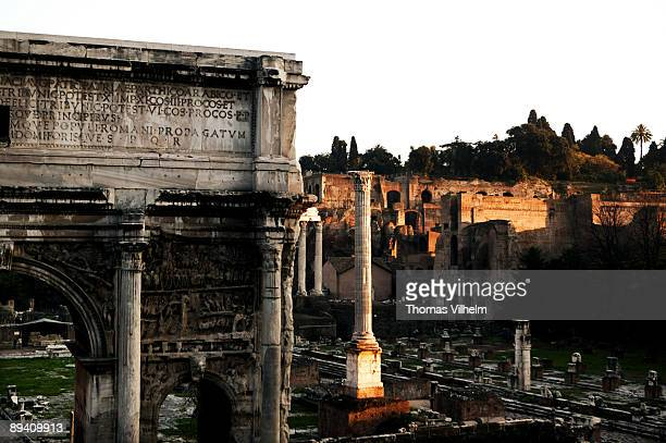Rome Italy Roman Forum The Roman Forum was the central area around which ancient Rome developed in which commerce and the administration of justice...