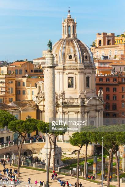 Rome Italy Rome Italy Piazza della Madonna di Loreto and Trajan's Column The historic center of Rome is a UNESCO World Heritage Site