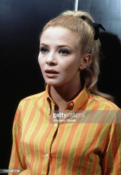 Rome, Italy, September 1966: Italian actress Laura Efrikian.