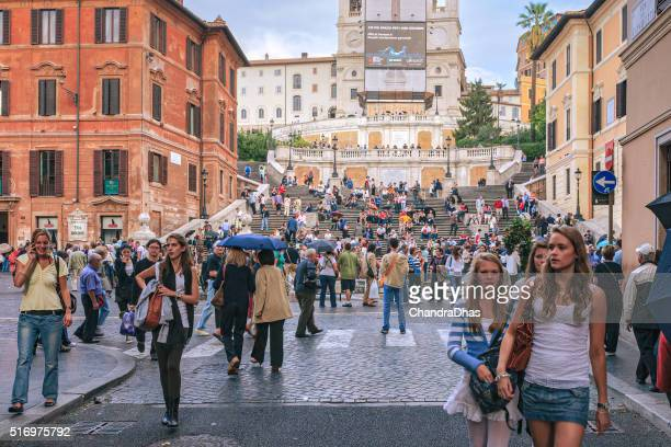 Rome, Italy - Spanish Steps or Piazza di Spagna