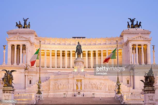 Rome Italy  Victor Emmanuel II Monument on Piazza Venezia