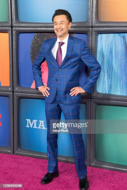 Rome Kanda attends the 'Maniac' season 1 New York premiere at Center 415 on September 20 2018 in New York City