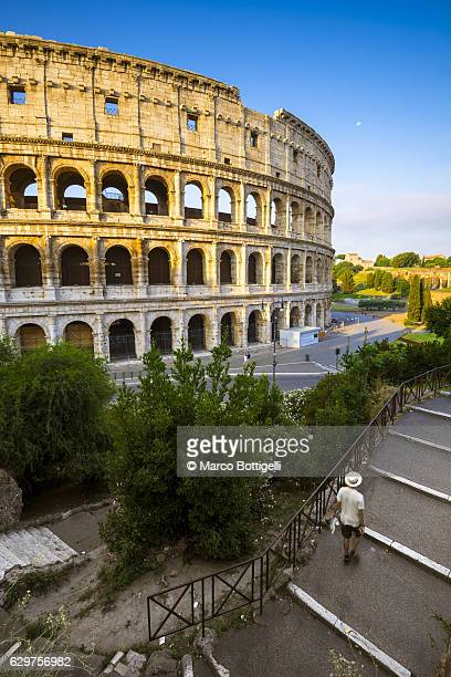 rome, lazio, italy. - coliseum rome stock photos and pictures