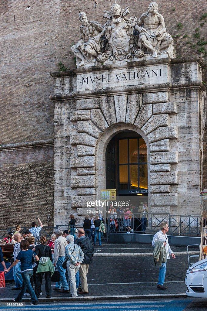 Museo Del Vaticano.Romauscita Principale Dal Museo Del Vaticano Foto Stock Getty Images