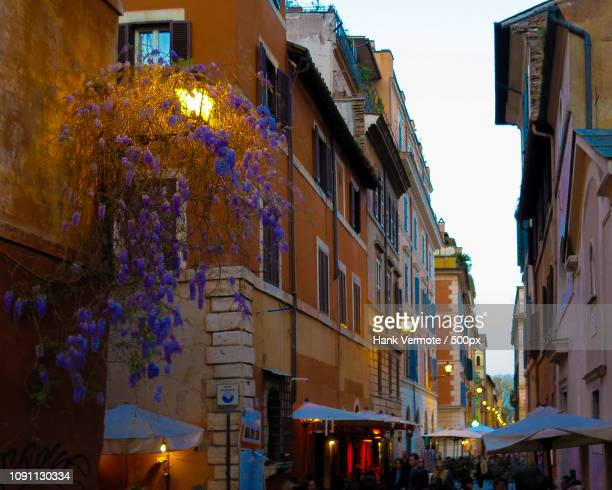 rome nightlife - hank vermote stock pictures, royalty-free photos & images
