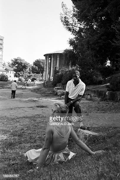 Rome Olympics Games 1960. Italie, jeux olympiques de Rome : ambiance, épreuves et rendez-vous avec des sportifs. 83 pays participèrent à ces jeux. A...