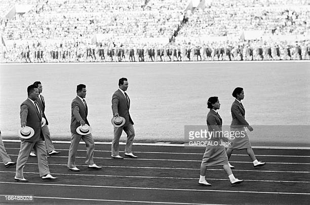 Rome Olympics Games 1960 Italie jeux olympiques de Rome ambiance épreuves et rendezvous avec des sportifs 83 pays participèrent à ces jeux 25 Aout...