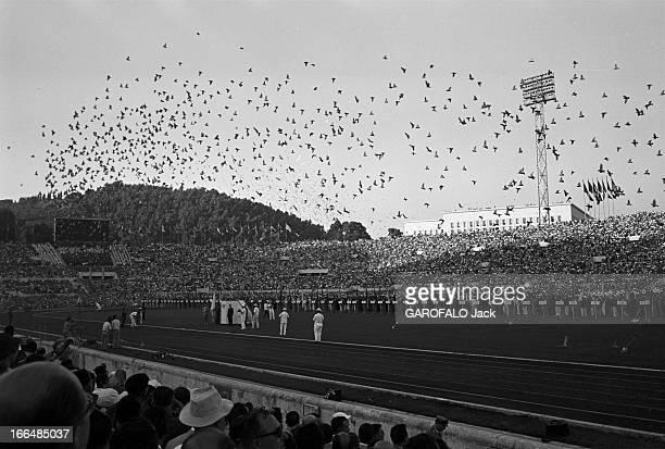 Rome Olympics Games 1960. Italie, jeux olympiques de Rome : ambiance, épreuves et rendez-vous avec des sportifs. 83 pays participèrent à ces jeux....