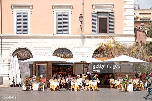 Rome Outdoor Cafe
