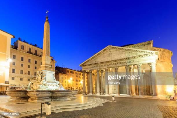 rome, pantheon - pantheon rome stock photos and pictures
