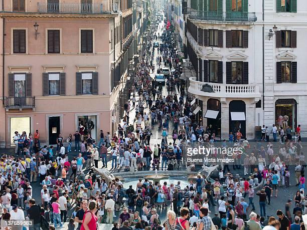 Rome, Piazza di Spagna and Via Condotti